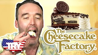 Irish People Try Cheesecake Factory For The First Time... in AMERICA!