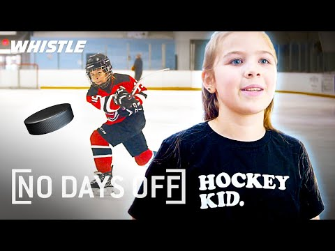 10-Year-Old PHENOM Is The FUTURE Of Women's Hockey!