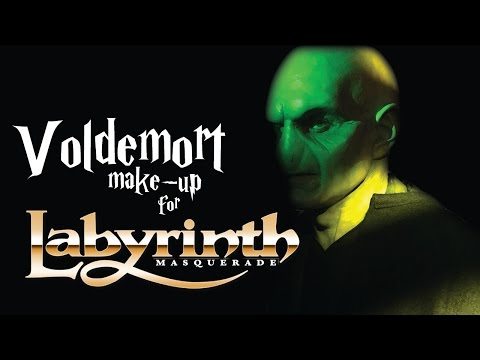 Greg Aronowitz's Lord Voldemort Make-Up from LOJ 2016