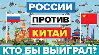 Китай против России - кто выиграет? – Армия/ Сравнение армий