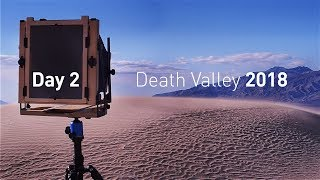 Landscape Photography: Exploring Death Valley with Large Format Film, Day 2