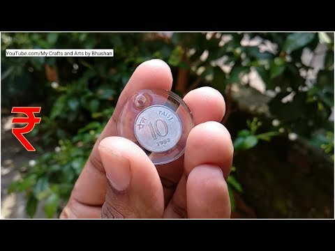Amazing DIY idea from epoxy resin art || old coin in resin || cool gift for your love one