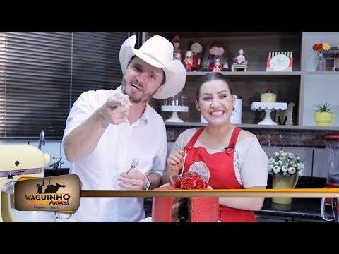 Waguinho Animal - Culinária Animal com Mara Cakes 03/03/18