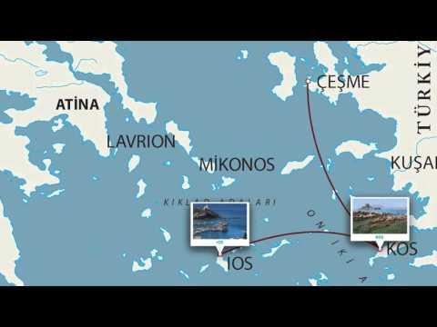 Celestyal Crystal ile Yunan Adaları Atina İdyllic Aegean 4 Gece 5 Gün