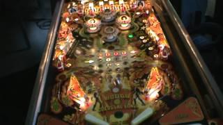 Playing Kiss Pinball HQ.mpg