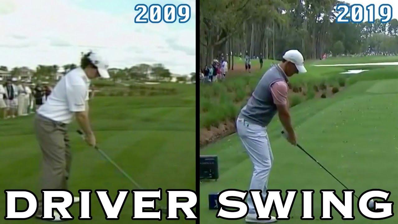 Rory Mcilroy Driver Swing Comparison 2009 2019