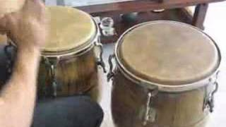 Merengue Rhythm on Congas by Paul lopez