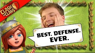...BEST. DEFENSE. EVER? ▶️ Clash of Clans ◀️ I ACTUALLY FEEL BAD FOR THIS