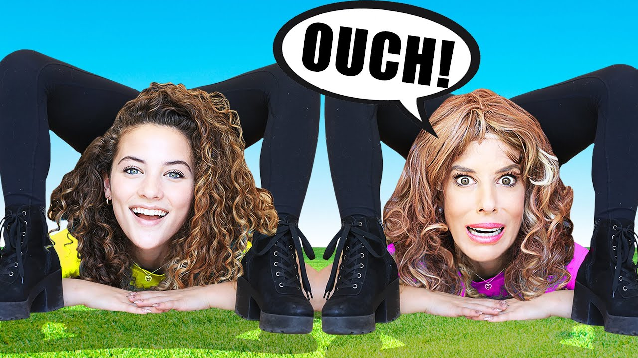 Copying Sofie Dossi for 24 Hours! Best Friend Twin Challenge (Bad Idea)