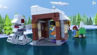 конструктор Lego Modular Winter Vacation 31080 обзор