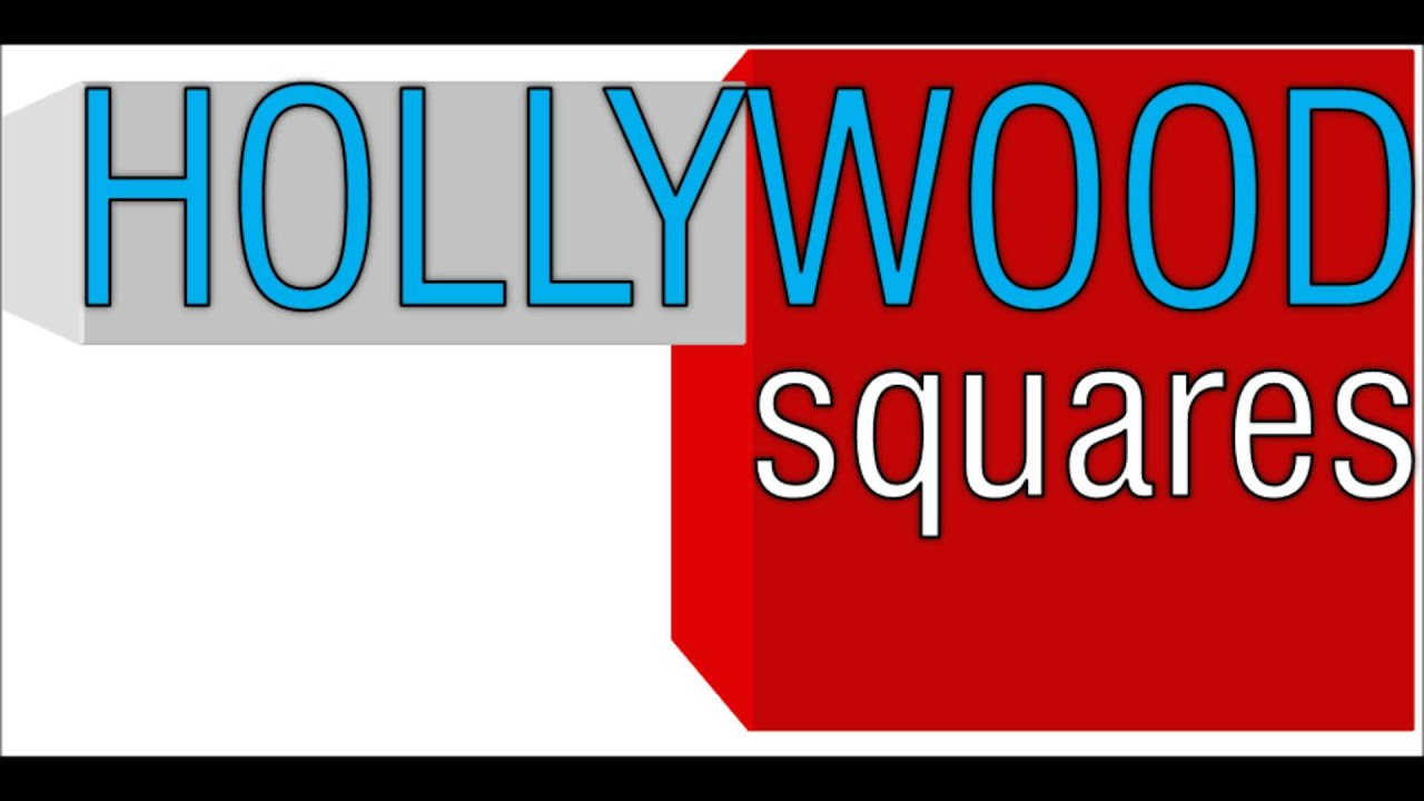 Hollywood squares 1998 2001 intro outro theme youtube for Hollywood squares powerpoint template