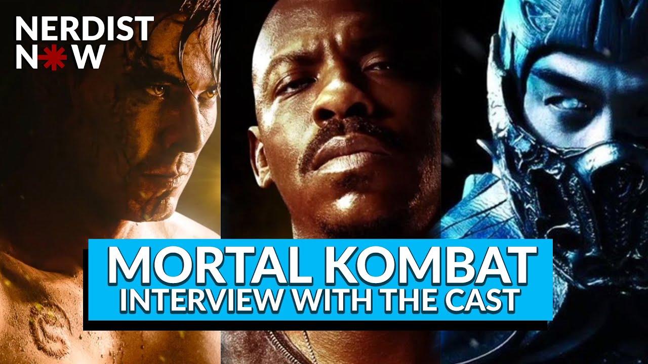 Mortal Kombat - Joe Taslim, Mehcad Brooks, and Lewis Tan Interview