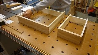 Sheraton Writing Desk - Making The Drawers