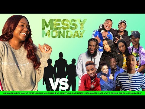 DRAMA ALERT! ! ! IamJustAiri vs Ar'mon And Trey, Corey, D&B Nation & MORE | MESSY MONDAY