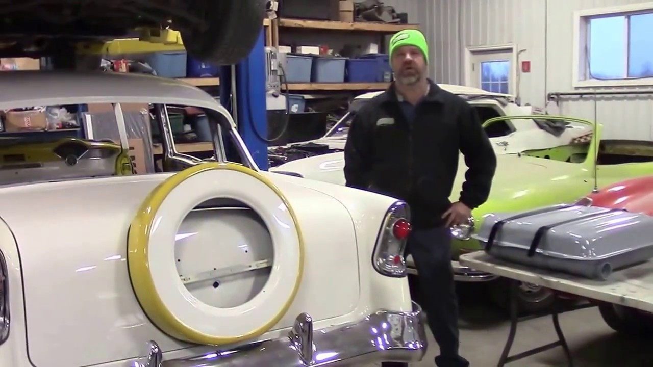 1956 Chevy Bel Air Restoration Update New Gas Tank 1954 Dodge Lastchanceautorestore Com