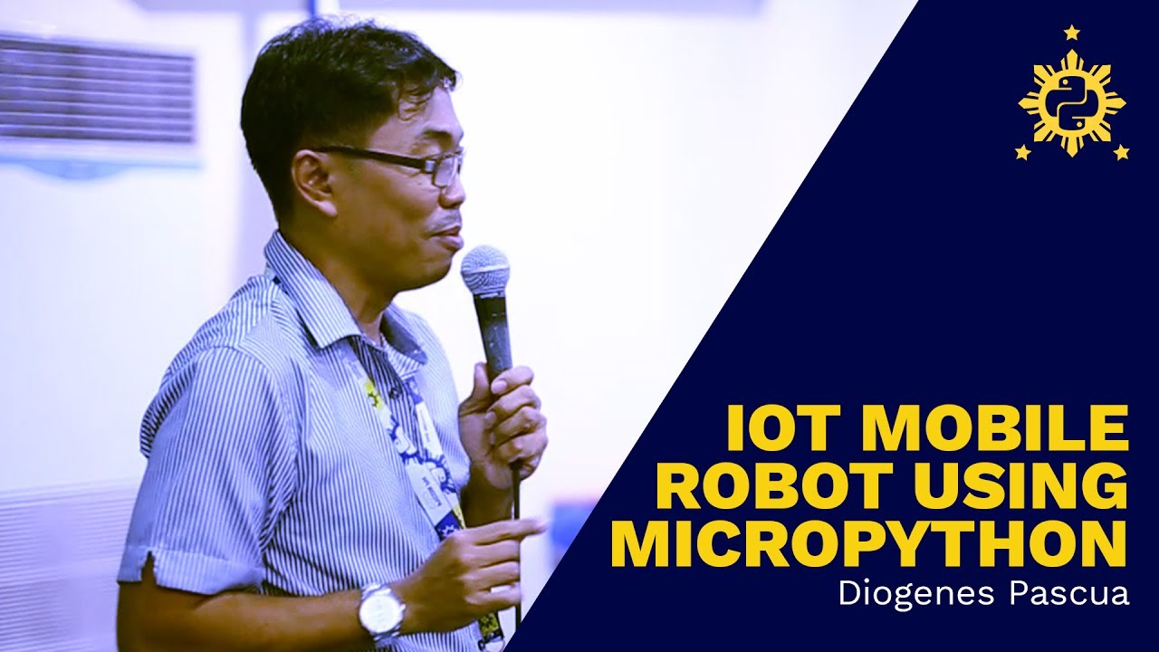 Image from PyCon PH 2017 - IoT Mobile Robot Using Micropython by Diogenes Pascua