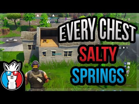 Every Chest in Salty Springs (Hidden Chests) Fortnite Guide