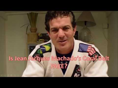 Is Jean Jacques Machado's Coral Belt FAKE???