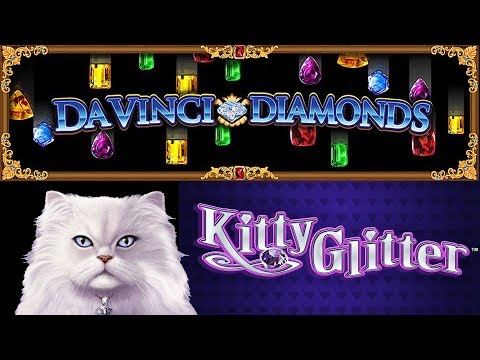 Cosmopolitan 🎰 Da Vinci Diamonds 💎 Kitty Glitter 🐈 The Slot Cats 🎰😺😸