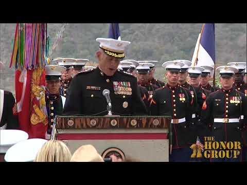 Gen. John Kelly at 5th Memorial Dedication 6-6-2013 Camp Pendleton, CA