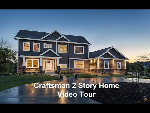 DePere Craftsman 2 Story by Dickinson Homes