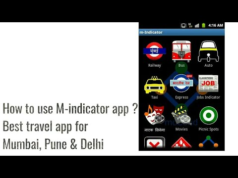How To Use M Indicator ??M Indicator Kaise Istemal Kare ?Best Traveling App.