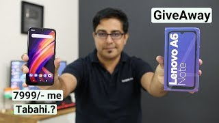 Lenovo A6 Note Unboxing,Overview & GiveAway I Hindi