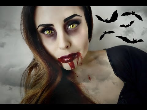 SEXY VAMPIRA Makeup Tutorial
