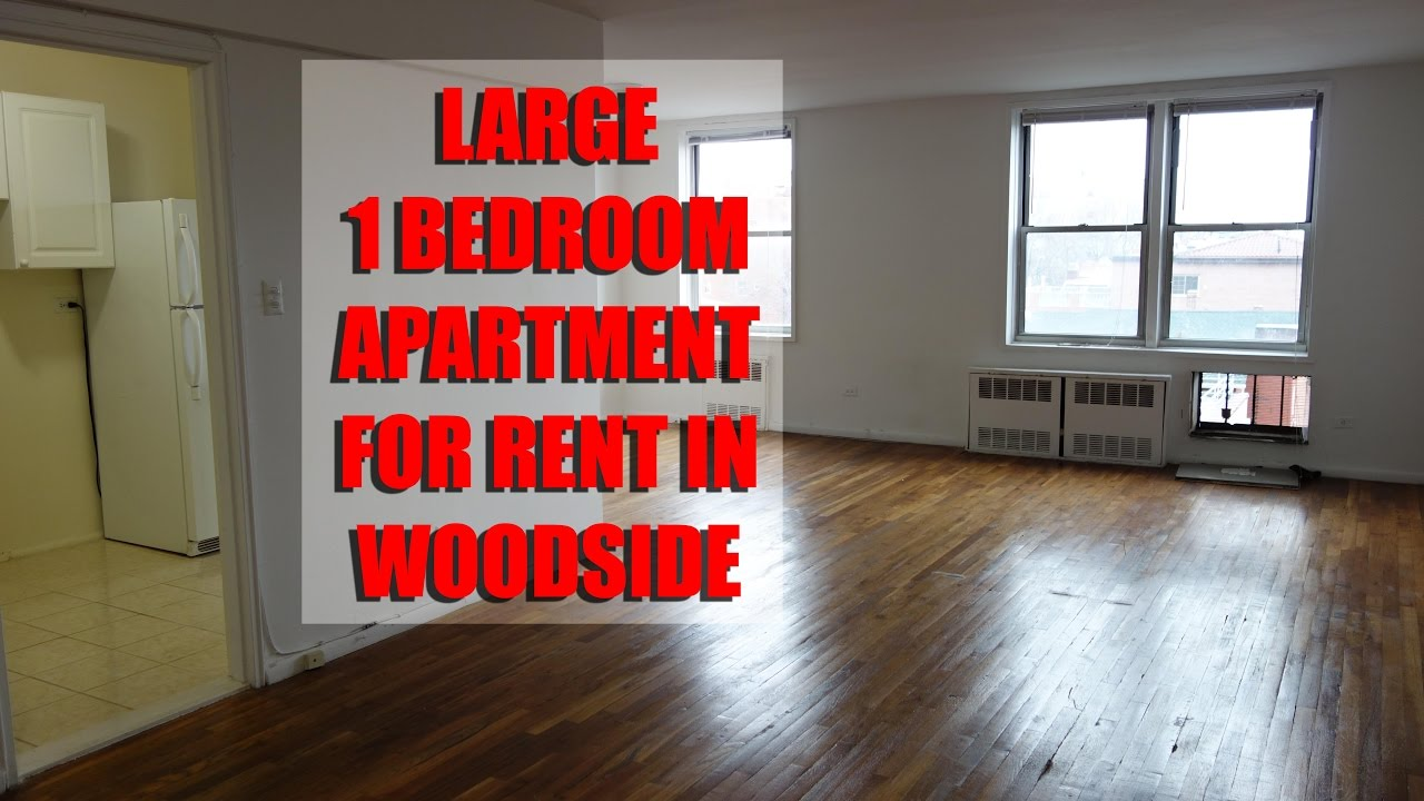 Large 1 Bedroom Apartment For Rent In Woodside Queens Nyc Youtube