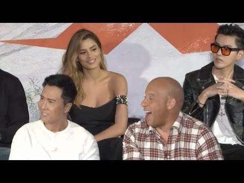 xXx 3: Return of Xander Cage | full press conference (2017)