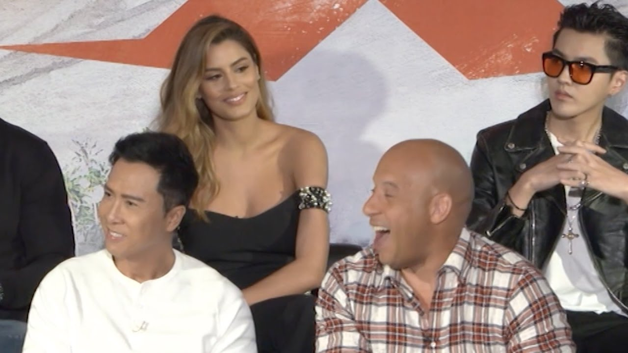 Download xXx 3: Return of Xander Cage | full press conference (2017)