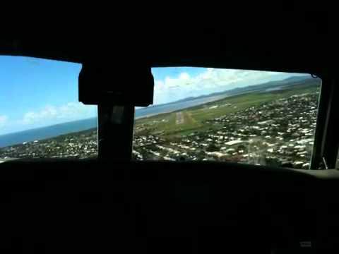 Convair landing Mackay QLD