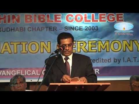 Cochin Bible College - 3rd Graduation Ceremony [Abu Dhabi]