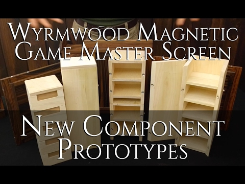 Game Master Screen prototypes and new components!