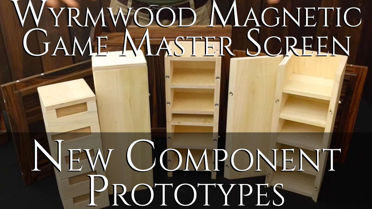 Project Updates for The Wyrmwood Magnetic Game Master Screen on