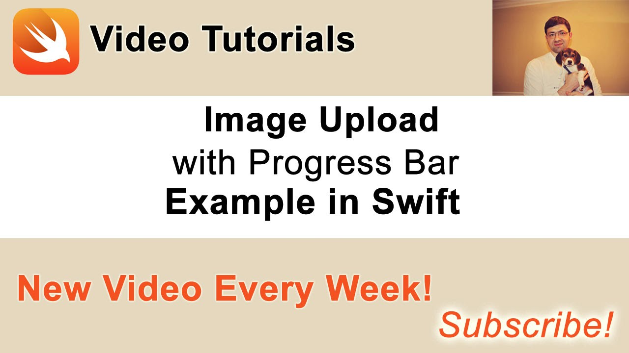 Image Upload with Progress Bar example in Swift