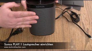 Sonos PLAY:9 Lautsprecher einrichten und mit Musik verbinden - YouTube