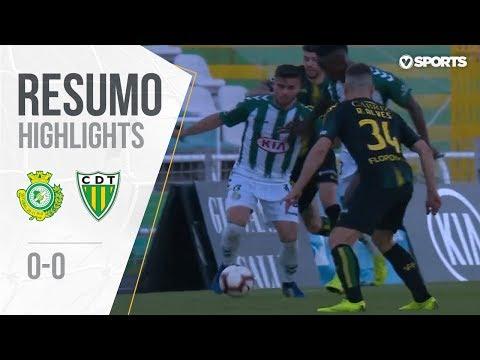 Highlights | Resumo: Vitória FC 0-0 Tondela (Liga 18/19 #25)