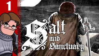 Let's Play Salt and Sanctuary Part 1 - 2D Souls-Like! (Hunter Gameplay)