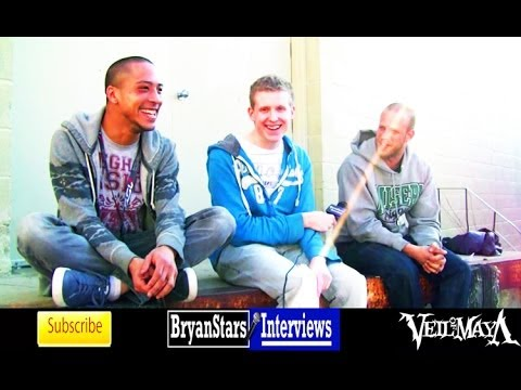 Veil Of Maya Interview Marc Okubo & Sam Applebaum Parkway Drive Tour 2013