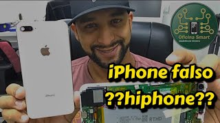 REPLICA iphone 8 plus antes de comprar veja esse video ! Abrindo a réplica iPhone 8 plus