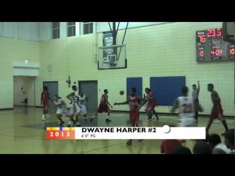 Brighton High 2013 PG Dwayne Harper 2011-2012 Mix