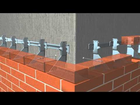 Halfen Usa Brickwork Support Systems Youtube