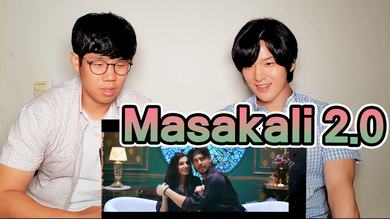 Koreans React to Masakali 2.0! | Sidharth Malhotra x Tara Sutaria | Korean Dost Reaction