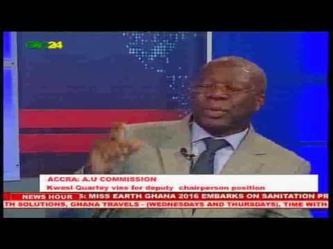 Kwesi Quartey Vies For Deputy Chairperson of the AU Commission