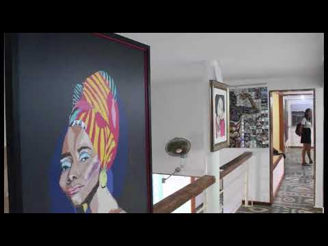 """Biennale de Dakar. Visite virtuelle de l'expo Off """"Le non encore"""" au musée de la mer à Gorée"""