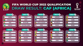 The folowing is fifa world cup 2022 qatar qualifiers: african draw resultgroup stagegroup a: algeria, burkina faso, niger, djiboutigroup b: tunisia, zamb...