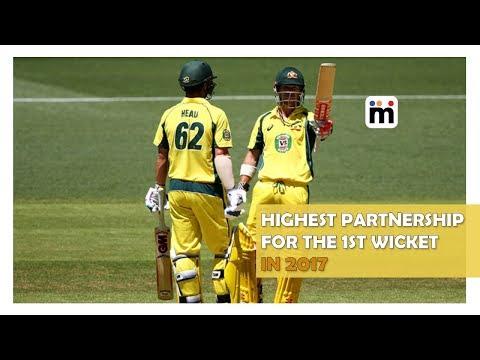 Highest Partnership for the 1st Wicket in 2017   Mijaaj Sports News