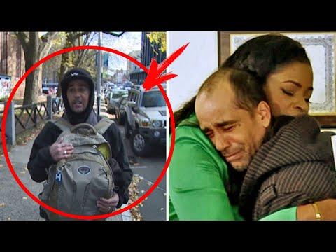 Бездомный парень нашел на улице чек и вернул НЕЗНАКОМКЕ. Спустя время судьба преподнесла ему СЮРПРИЗ