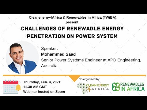 Challenges of Renewable Energy penetration on Power System
